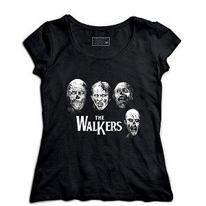 Camiseta Feminina Zombies - Loja Nerd e Geek - Presentes Criativos