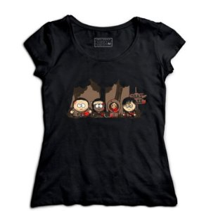 Camiseta Feminina South Kill - Loja Nerd e Geek - Presentes Criativos