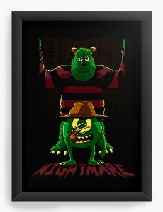 Quadro Decorativo A4 (33X24) Freed S.A - Loja Nerd e Geek - Presentes Criativos