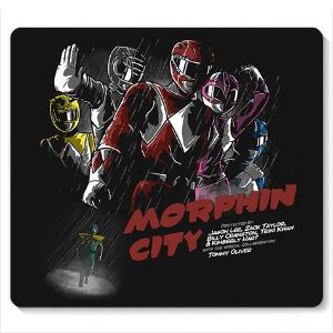 Mouse Pad Power Rangers - Loja Nerd e Geek - Presentes Criativos