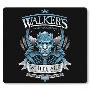 Mouse Pad Walker - Loja Nerd e Geek - Presentes Criativos