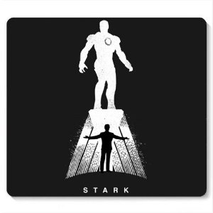 Mouse Pad Stark - Loja Nerd e Geek - Presentes Criativos