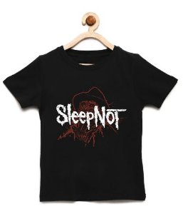 Camiseta Infantil Freddy Kruger - Loja Nerd e Geek - Presentes Criativos