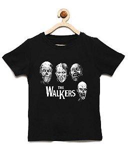 Camiseta Infantil Zombies - Loja Nerd e Geek - Presentes Criativos