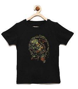 Camiseta Infantil Tartarugas Ninja - Loja Nerd e Geek - Presentes Criativos