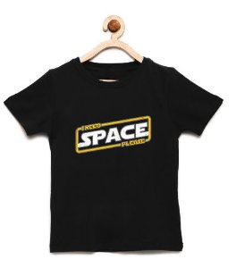Camiseta Infantil Space - Loja Nerd e Geek - Presentes Criativos