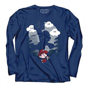 Camiseta Manga Super Plumber - Loja Nerd e Geek - Presentes Criativos