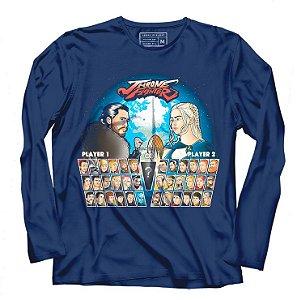 Camiseta Manga Batalha de Reinos - Loja Nerd e Geek - Presentes Criativos