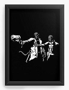Quadro Decorativo A4 (33X24) Hell - Loja Nerd e Geek - Presentes Criativos