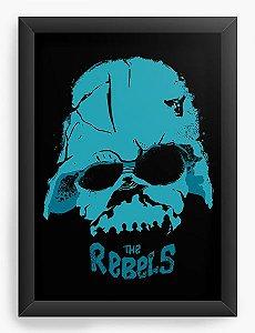 Quadro Decorativo A4 (33X24) Rebels - Loja Nerd e Geek - Presentes Criativos
