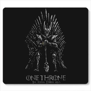 Mouse Pad Throne - Loja Nerd e Geek - Presentes Criativos