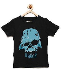 Camiseta Infantil Rebels - Loja Nerd e Geek - Presentes Criativos