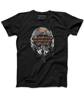 Camiseta Masculina Helmet - Loja Nerd e Geek - Presentes Criativos