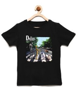 Camiseta Infantil Droids - Loja Nerd e Geek - Presentes Criativos