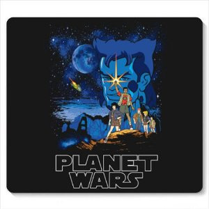 Mouse Pad Capitao Planeta - Loja Nerd e Geek - Presentes Criativos