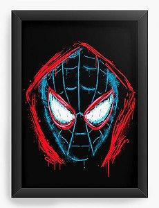 Quadro Decorativo A4 (33X24) Spider - Loja Nerd e Geek - Presentes Criativos