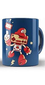 Caneca Super Mario Nintendo