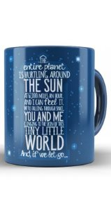 Caneca Doctor Who Word