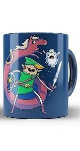 Caneca The Legend of Zelda ocarina time