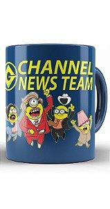 Caneca  Minions Channel News Team