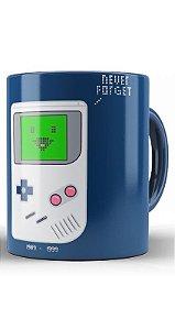 Caneca Game Boy Never Forget
