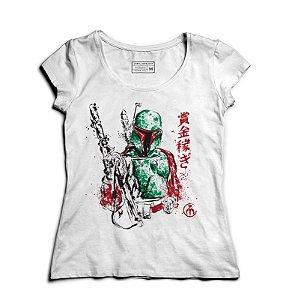 Camiseta Feminina Hunter- Loja Nerd e Geek - Presentes Criativos