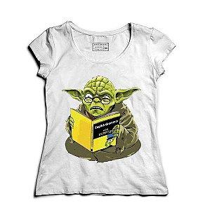 Camiseta Feminina Book- Loja Nerd e Geek - Presentes Criativos