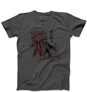 Camiseta Masculina Samurai - Loja Nerd e Geek - Presentes Criativos