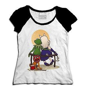 Camiseta Feminina Raglan Babies Friends - Loja Nerd e Geek