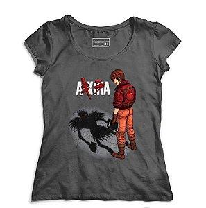 Camiseta Feminina A-KIRA - Loja Nerd e Geek