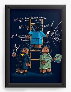 Quadro Decorativo A3 (45X33) Lego - Loja Nerd e Geek - Presentes Criativos