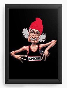 Quadro Decorativo A3 (45X33) Einstein - Loja Nerd e Geek - Presentes Criativos