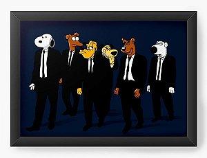 Quadro Decorativo A3 (45X33) Dogs 007 - Loja Nerd e Geek - Presentes Criativos