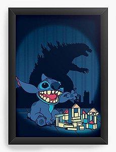 Quadro Decorativo A3 (45X33) Poderoso Monstro - Loja Nerd e Geek - Presentes Criativos