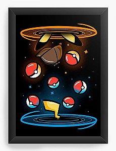 Quadro Decorativo A3 (45X33) Ball - Loja Nerd e Geek - Presentes Criativos
