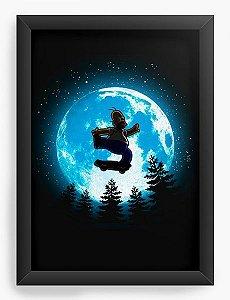 Quadro Decorativo A3 (45X33) Moon - Loja Nerd e Geek - Presentes Criativos