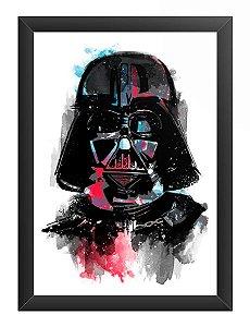 Quadro Decorativo A4 (33X24) Color Dark - Loja Nerd e Geek - Presentes Criativos