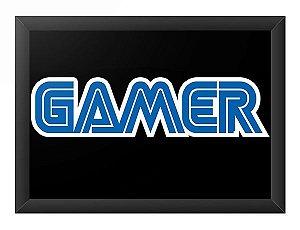Quadro Decorativo A4 (33X24) Gamer - Loja Nerd e Geek - Presentes Criativos