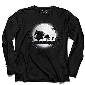 Camiseta Manga Longa Monstros SA - Loja Nerd e Geek - Presentes Criativos