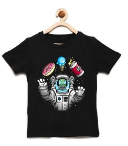 Camiseta Infantil Homer Simpsons Space- Loja Nerd e Geek - Presentes Criativos