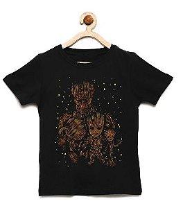 Camiseta Infantil Groot - Loja Nerd e Geek - Presentes Criativos