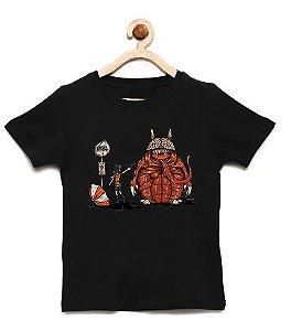 Camiseta Infantil R-Evil Totoro - Loja Nerd e Geek - Presentes Criativos