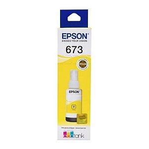 T673420 - Amarelo 70ml - Original (T673) - Epson