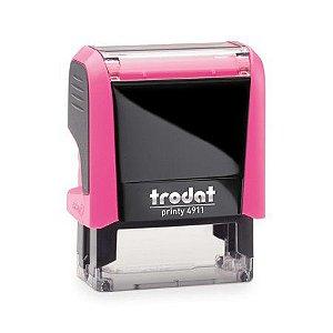 Carimbo Printy 4911 P4.0 - Pink Neon - 38mm x 14mm