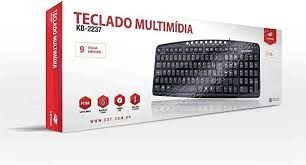 TECLADO MULTIMIDIA KB22372 - C3TECH