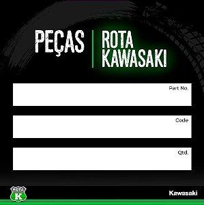 Paralama Traseiro Kawasaki KLX110 Preto