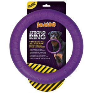 ANEL RING STRONG ROXO