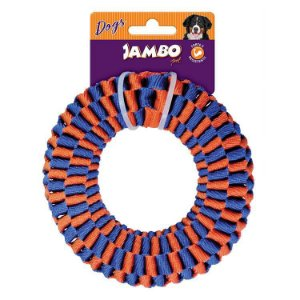 CORDA TWIST RESIST RING AZUL E LARANJA