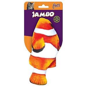 PEIXE REAL FISH PALHACO P/GATO C/CATNIP