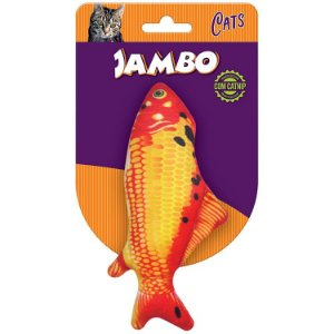 PEIXE REAL FISH CARPA P/GATO C/CATNIP